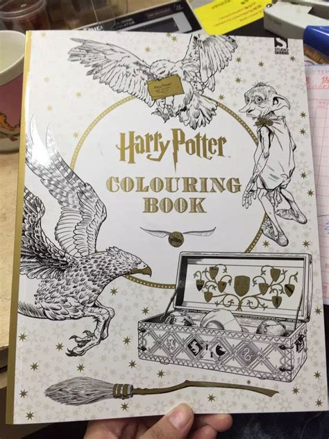 pages harry potter coloring book books  children