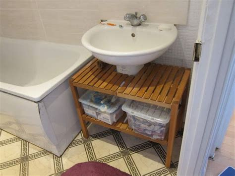 Best Pedestal Sink Storage Solutions Images On