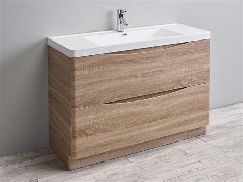 Oak Vanity by Eviva Smile 48 Quot White Oak Modern Bathroom Vanity Set With
