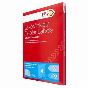 bulk buy 3 x pps mailing labels 4 up 100 pack ebay With bulk address labels