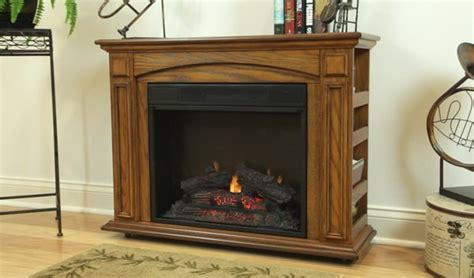 Style Selections Compact Electric Fireplace