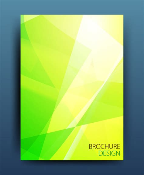 abstract cover page design  vector