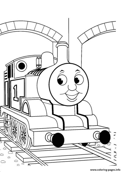 kids easy thomas  train sdcb coloring pages printable