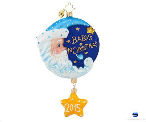 1018112 christopher radko sleepy time santa blue christmas