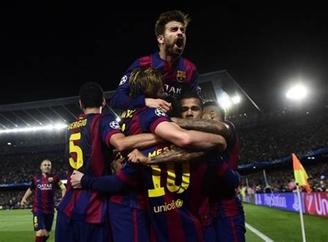 Messi scores twice as Barcelona win champions league semi ...