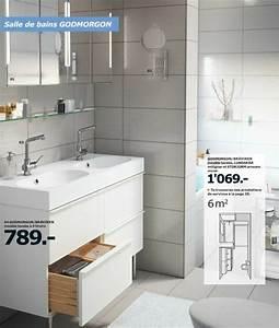 Catalogue Salle De Bains Ikea : salle de bain ikea avis le meilleur du catalogue ikea c t maison ~ Teatrodelosmanantiales.com Idées de Décoration