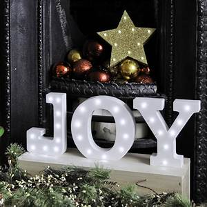 christmas light up letters by the letterologists With noel letter lights
