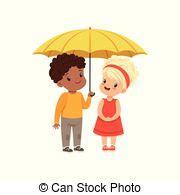 yellow umbrella vector yellow opened umbrella vector