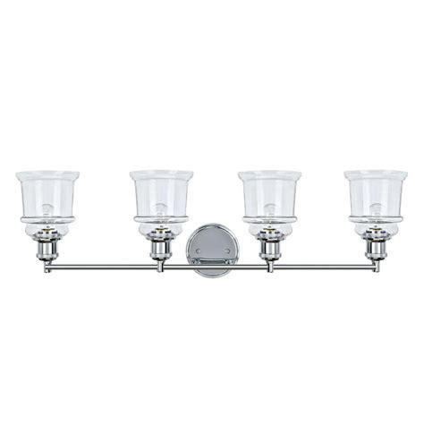 aspen creative corporation 4 light chrome vanity light