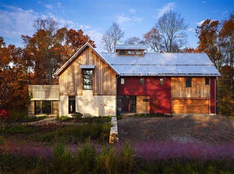 Sustainable Modernrustic Barn House In Pennsylvania