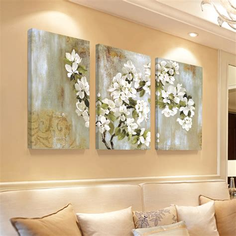 home decor wall painting flower canvas painting cuadros dencoracion wall pictures for livig room