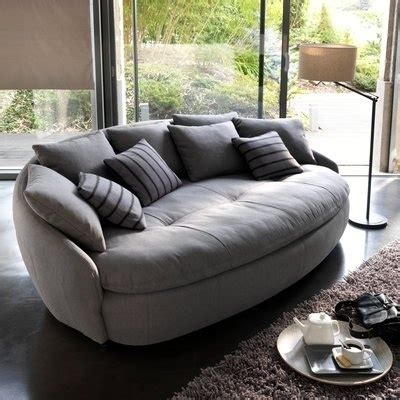 Oval Loveseat by Oval Sofa Monaco Curved Sofa Oval Ottoman Valley Leather