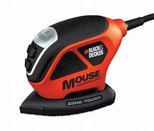 Ponceuse Black Et Decker : ponceuse polisseuse mouse avec technologie touch zone ~ Dailycaller-alerts.com Idées de Décoration