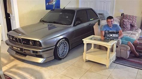 Bmw Enthusiast by Bmw Enthusiast Parks M3 Inside Living Room During
