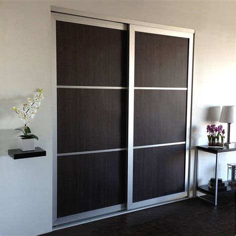 woodgrains sliding closet doors room dividers modern
