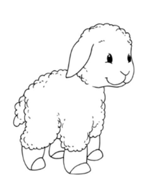 sheep coloring pages for preschool preschool and 183   sheep coloring pages for preschool free printable animal colouring page 233x300