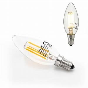 E14 Zu E27 : led e14 e27 warmwei filament leuchtmittel 2700k kerze gl hlampe birne ebay ~ Markanthonyermac.com Haus und Dekorationen
