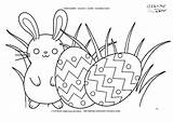 Grass Coloring Pages Easter Eggs Bunnie Printable Getdrawings Getcolorings sketch template