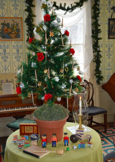 How Christmas Decorations Evolved Through The 1800s  Curbed