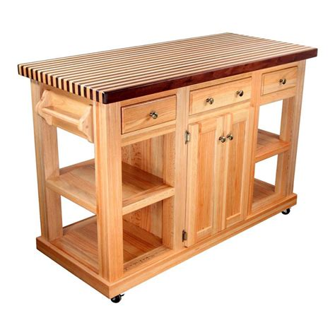 chrome kitchen island portable kitchen island butcher block top with