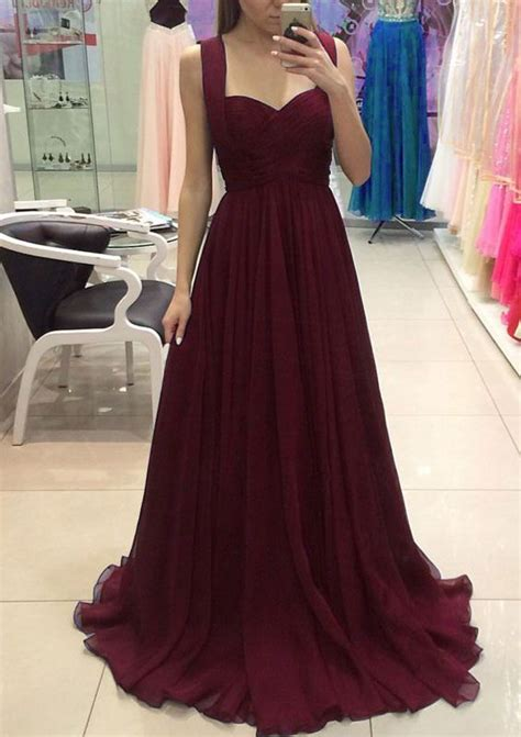 burgundy color prom dress 25 best ideas about burgundy bridesmaid dresses on