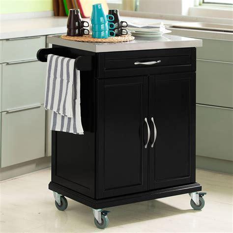 kitchen trolley cabinet sobuy 174 wood kitchen cabinet kitchen cart trolley with 3392