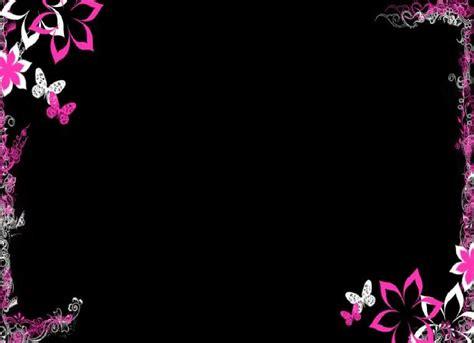 dark purple flowers cool dark purple flower border backgrounds black color  deep nights
