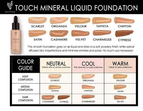 how to what foundation color you are younique foundation color match quiz find out what color