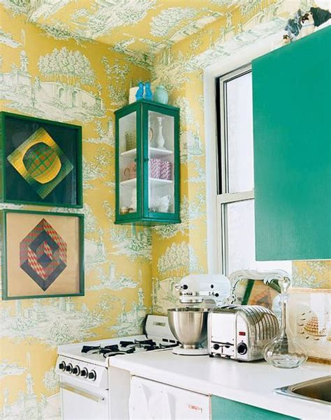 yellow green kitchen small kitchen designs in yellow and green colors 1210