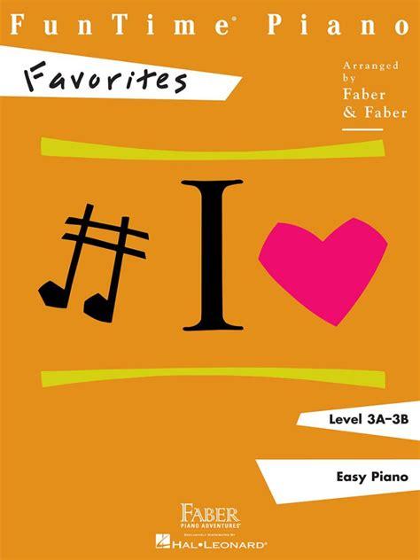 Funtime Piano Favorites Faber Piano Adventures