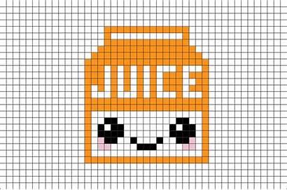 Pixel Juice Orange Drink Template