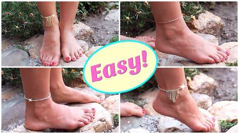 diy anklets   tools easy diy anklet diy