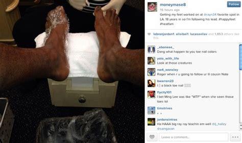 LeBron James, Miami Heat players get pedicures | Larry