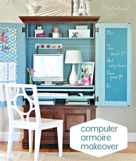 Computer Armoire On Pinterest  Armoire Decorating