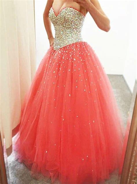 puffy prom dresses ideas  pinterest xv