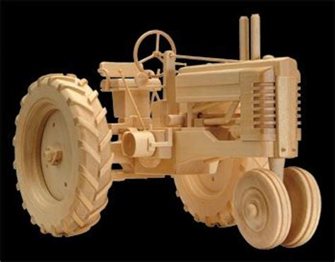 click    wooden toys farm tractor wood plans