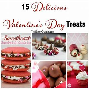 15 Delicious Valentine's Day Treats - The Classy Chapter