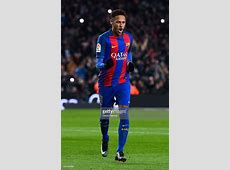 Neymar Jr of FC Barcelona celebrates after scoring his