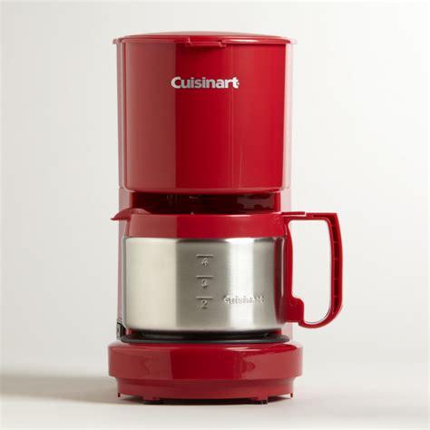 2 paper filter starter kit, instruction booklet. Cuisinart® 4-Cup Coffee Maker