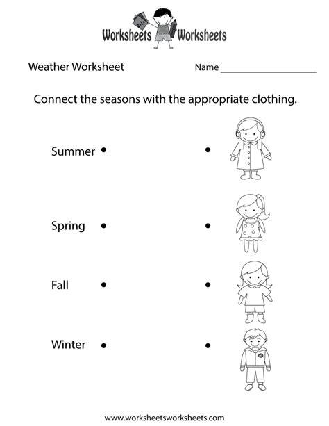 weather worksheet    printable weather