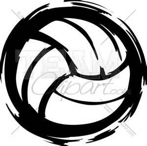 Vector Volleyball Clip Art