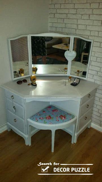 Corner Bedroom Vanity by Unique Modern Corner Dressing Table Designs For Small