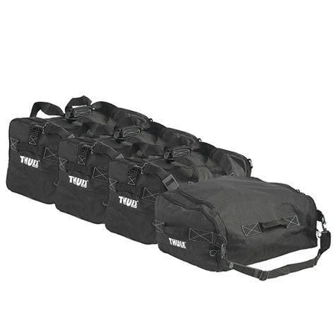 siege norauto jeu de sac de rangement gopack set 8006 thule pour coffre
