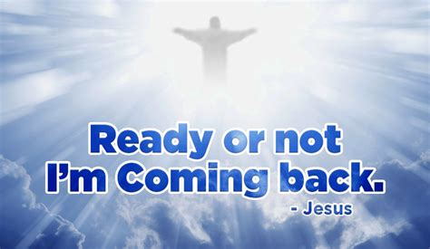 Will You Be Ready For His Return? Ecard  Free Facebook