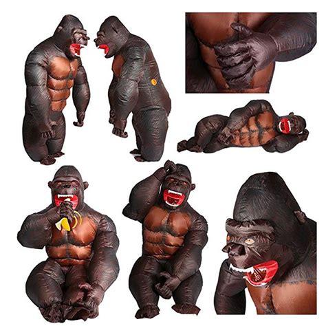 gorilla kostüm kinder aufblasbares gorilla kinder kost 252 m