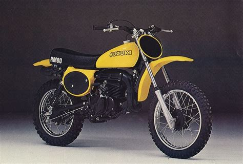 Anyone Has A Suzuki Rm80c 1978 For Sale?