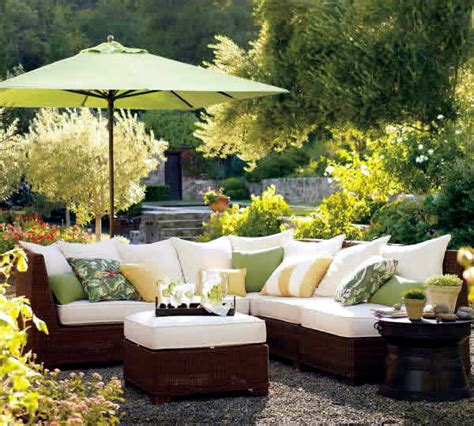 Ideas For Garden Furniture The Seating Area In The Garden