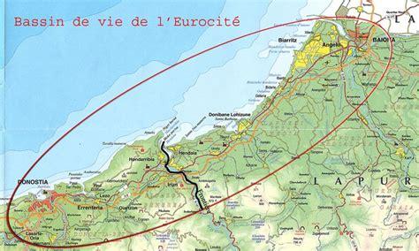 Cote Atlantique Espagne Carte by Espaces Transfrontaliers Org Territoire De L Eurocit 233 Basque