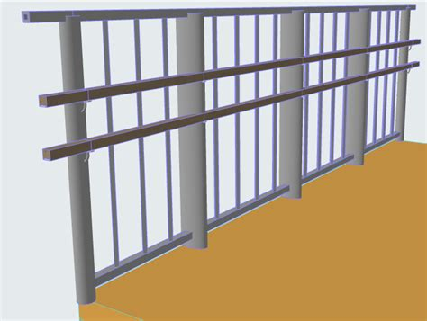 Whats A Banister by Handrail Settings Railing Tool Help Center Archicad