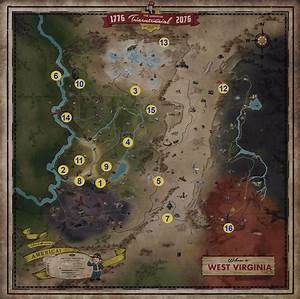 Fallout 76 Locations PC Gamer